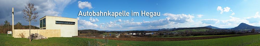 Autobahnkapelle im Hegau